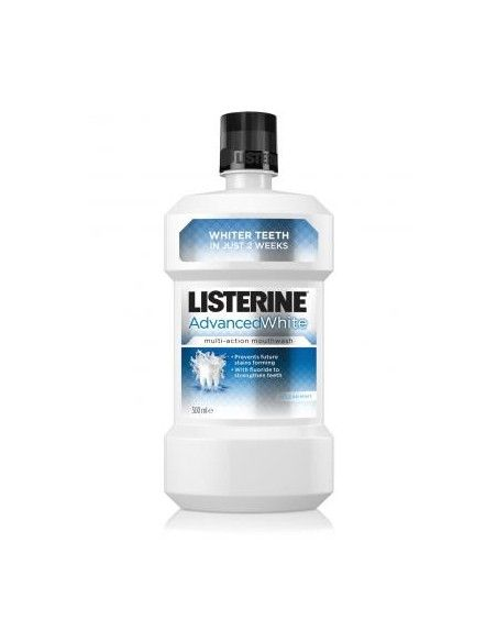 Listerine Apa de gura Advanced white x 250ml
