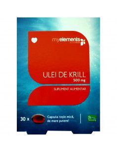 Ulei de Krill x 30 capsule (My Elements)