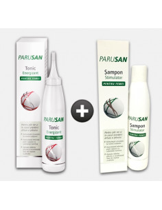 Parusan Sampon stimulator  200 ml + Parusan Tonic energizant 200ml OFERTA