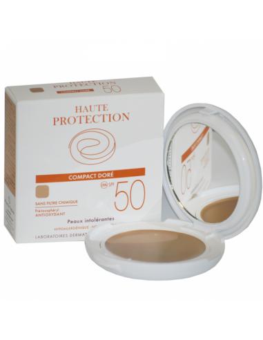 Avene Solare Compact Sable Crema Fotoprotectie SPF 50, x 10g