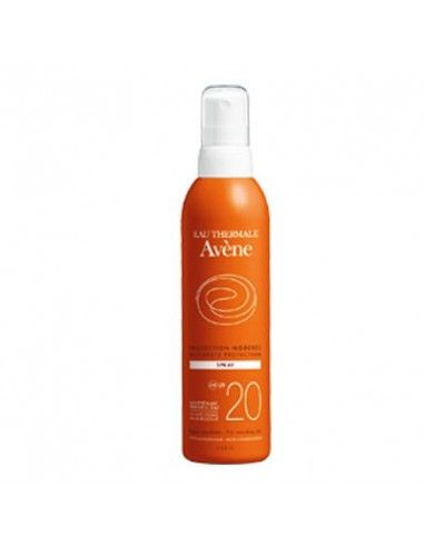Avene Spray fotoprotectie SPF 20 x 200 ml, Pierre Fabre