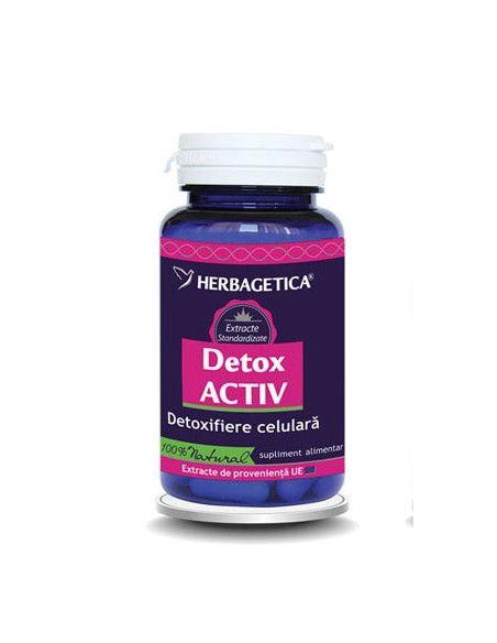 Herbagetica DetoxACTIV x 60 capsule