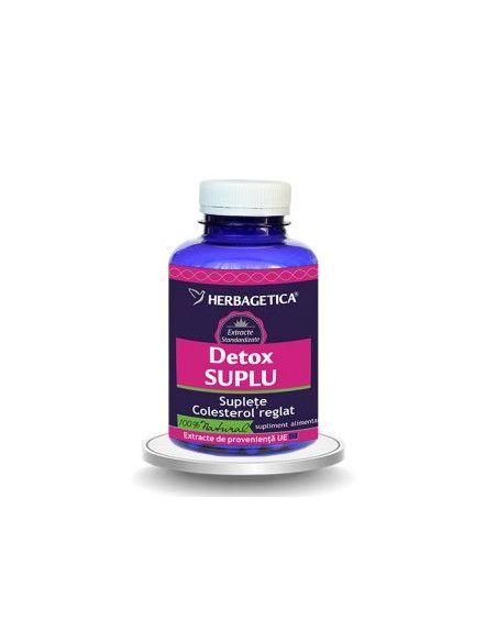 Herbagetica DetoxSUPLU x 120 capsule