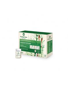 Farmona  Herbal Care Tratament fiole cu extract de coada calului pentru par foarte deteriorat 5x5 ml
