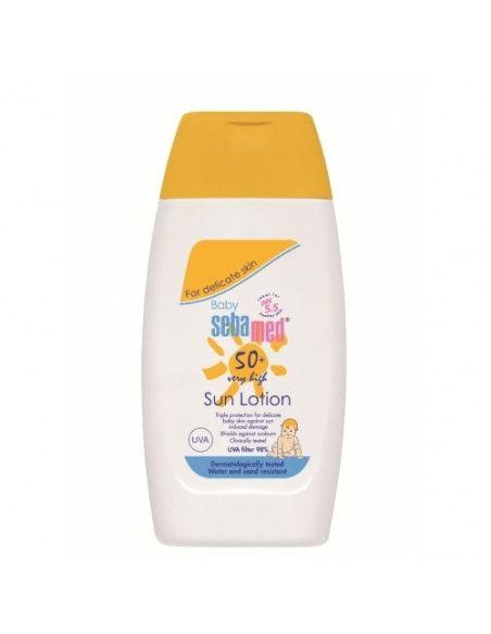 Sebamed Baby SunCare Lotiune SPF 50+ fara parfum 200ml