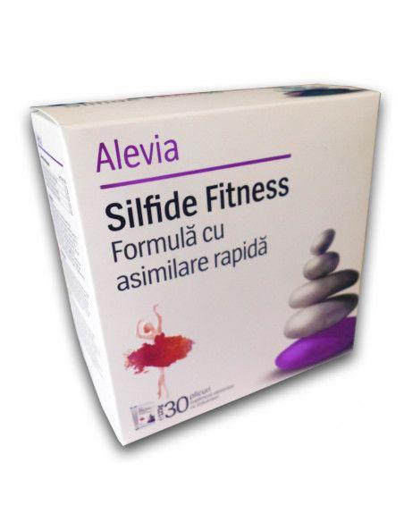 Silfide Fitness - Supliment alimentar -Formula cu asimilare rapida x 30 plicuri Alevia