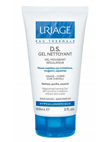 URIAGE D.S. Gel de curatare 150 ml
