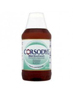 Corsodyl Mint apa de gura 0.2% x 300 ml