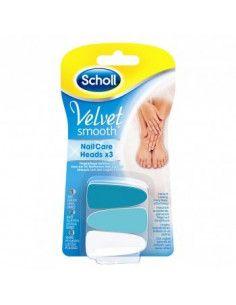Scholl Velvet Smooth Rezerva Pila Electrica pentru unghii