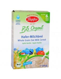 Topfer Cereale Probifido Ovaz cu lapte mere si vanilie 200g