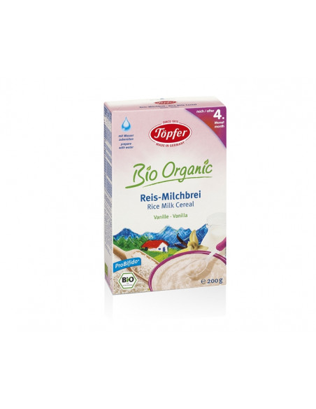 Topfer Cereale Probifido Orez cu lapte 200g