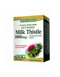 Nature's Bounty Silymarin Milk Thistle 1000mg x 60 capsule