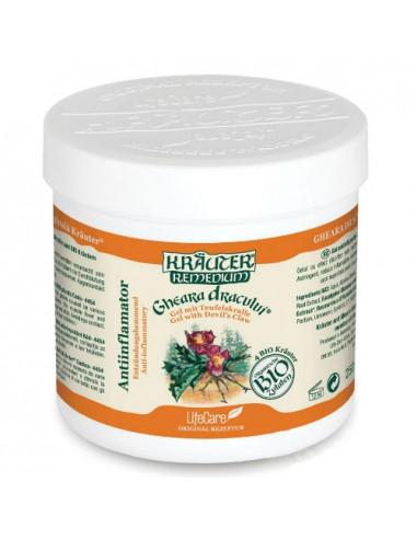 Gel antiinflamator Gheara Dracului cu plante Bio Krauter 250ml