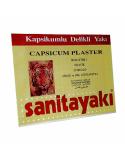 Sanitayaki Plasturi antireumatici cu ardei iute 17cm x 12cm