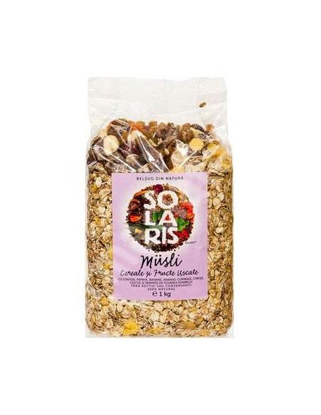 Solaris Musli Cereale si fructe uscate 1kg