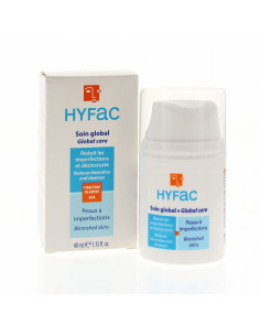 Hyfac crema globala anti-imperfectiuni cu AHA 40ml
