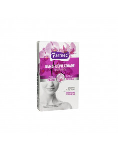 Farmec Benzi depilatoare pentru fata cu extract orhidee x 20 benzi