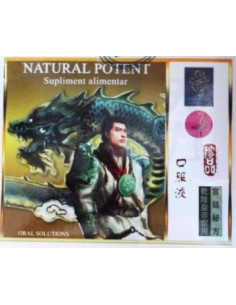 Natural Potent 4 fiole x 10 ml