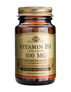 Solgar Vitamin B1 100mg x 100 capsule vegetale
