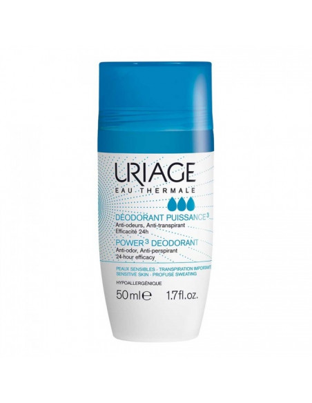 URIAGE Deodorant puissance roll-on 24h, 50ml