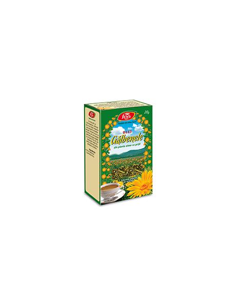 Ceai Galbenele, 50 g punga, Fares
