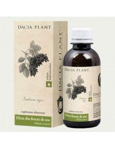 Dacia Plant Elixir din fructe de soc 200ml