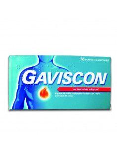 Gaviscon cu aroma de capsuni x 16 compr. masticabile