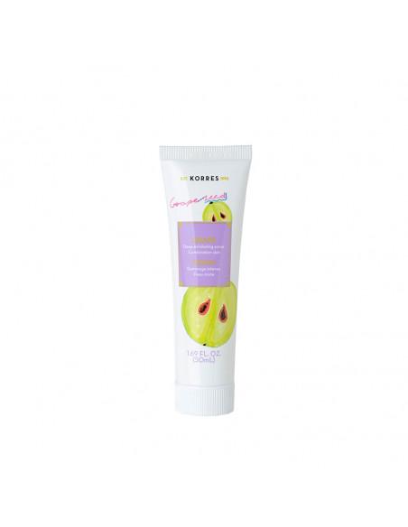 Beauty Shot Scrub facial cu extract de struguri, 18ml, Korres