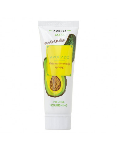 Korres Beauty Shot masca faciala cu avocado 18ml