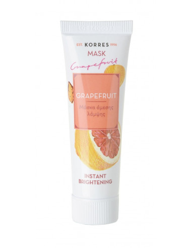 Korres Beauty Shot masca faciala cu grapefruit 18ml