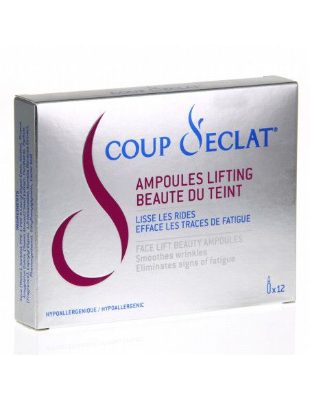 Coup d'Eclat Fiole lifting si antirid vegetal x 12 fiole