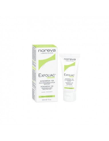 Noreva Exfoliac Acnomega 100, 30ml