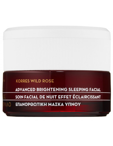 Masca faciala de noapte cu extract de trandafir salbatic, 40ml, Korres