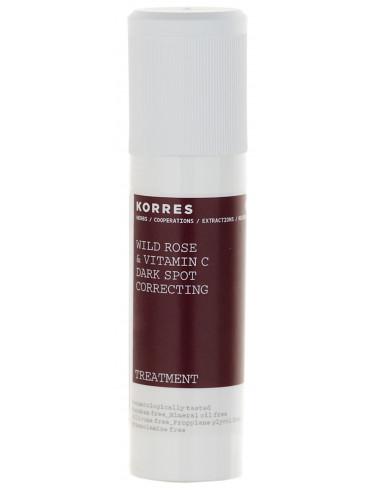 Tratament corector pentru pete brune cu extract de trandafir salbatic, 30ml, Korres