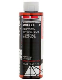 Gel de dus cu extract de Vetiver, 250ml, Korres