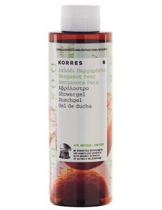 Gel de dus cu extracte de bergamota si para, 250ml, Korres