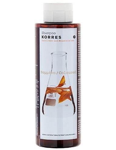 Sampon cu extracte de floarea soarelui si ceai de munte, 250ml, Korres