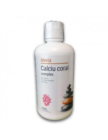 Calciu coral complex lichid, 946ml, Alevia