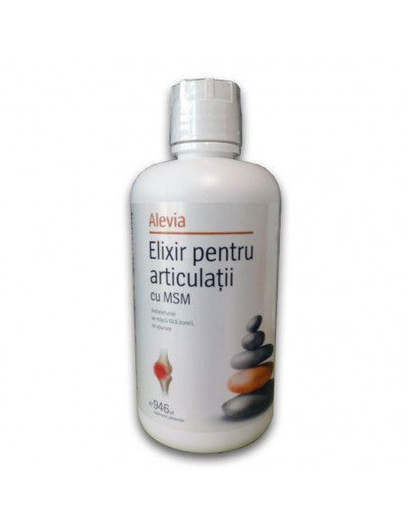 Elixir pentru articulatii cu MSM, 946ml, Alevia