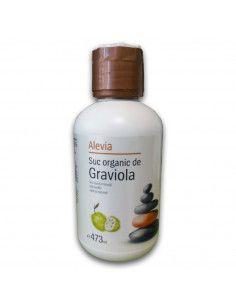 Suc organic de Graviola, 473ml, Alevia