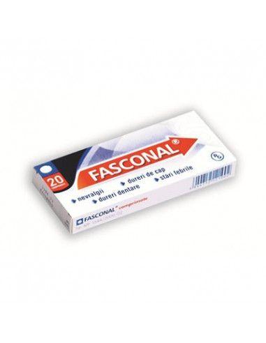 Fasconal P x 20 comprimate