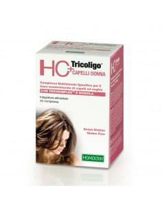 HC+ Tricoligo pentru caderea parului Femei, 40 comprimate, Specchiasol