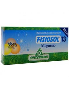Fisiosol13 Magneziu, 20 fiole buvabile, Specchiasol