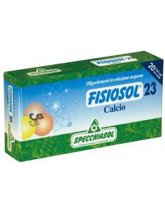 Fisiosol23 Calciu, 20 fiole buvabile, Specchiasol