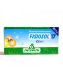 Fisiosol17 Zinc, 20 fiole buvabile, Specchiasol