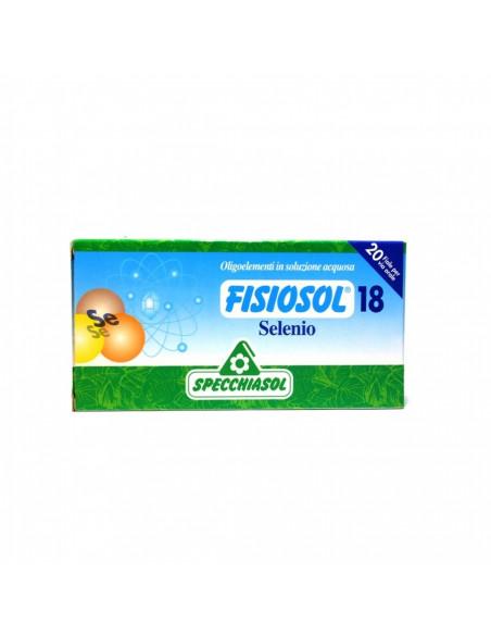 Fisiosol18 Seleniu, 20 fiole buvabile, Specchiasol