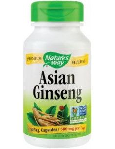 Secom Asian Ginseng 560mg x 50 cps (fostul Korean)
