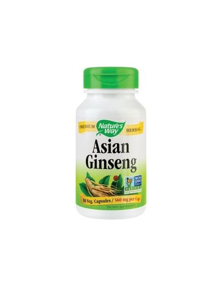 Secom Asian Ginseng 560mg x 50 cps (fostul Korean)