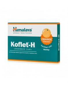 Koflet-H portocale, 12 comprimate de supt, Himalaya