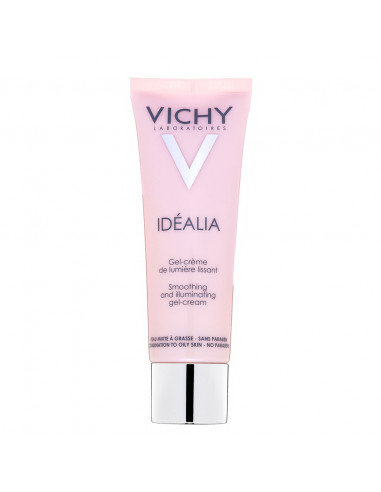 Vichy Idealia Crema Gel cu efect de netezire si iluminare a tenului, 50 ml